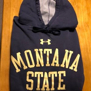 2/$15 Under Armour Montana State Hoodie